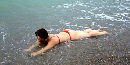 Пляжи Николаевки — курортного поселка в Западном Крыму