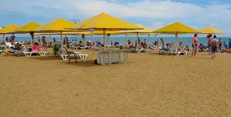 Аршинцевская коса — городской пляж Керчи