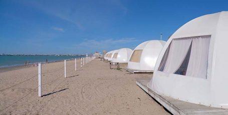 Пляж глэмпинга Евпатория