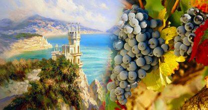 Винный тур по Крыму – лучший вариант для отпуска осенью