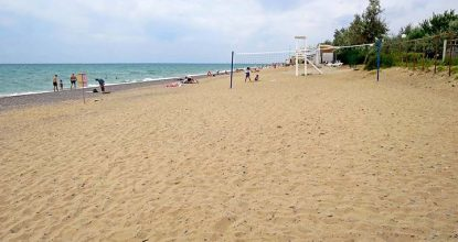 Пляжи города Саки