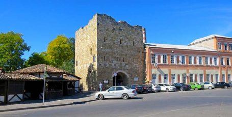 Гезлевские ворота — Одун-базар къапусы