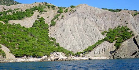 Пляж Халва или Серая скалка