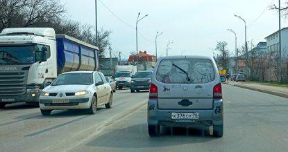 Ситуация на дорогах Крыма в 2021 году