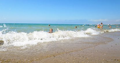 Пляжи поселка Песчаное, Бахчисарайский район