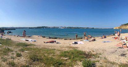 Пляж Шкипер в Севастополе